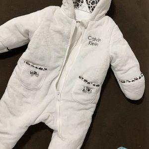 Baby winter bodysuit